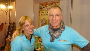 Impressionen des Papageienpark Messestands auf der Animal Heimitiermesse Stuttgart