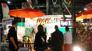 Videoimpression Papageienpark auf Heimtiermesse München 22.-24.3.2013