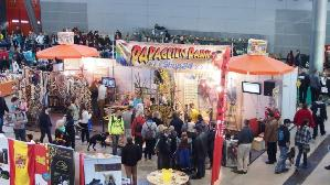 Papageienpark auf Messe Animal 2014