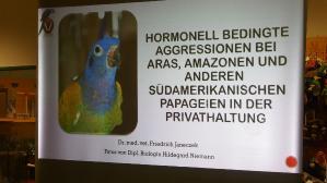 Seminar Aras & Amazonen im Papageienpark Bochum
