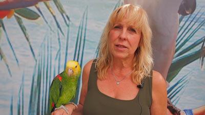 Heike bedankt sich für die Anteilnahme nach Papageien-Diebstahl
