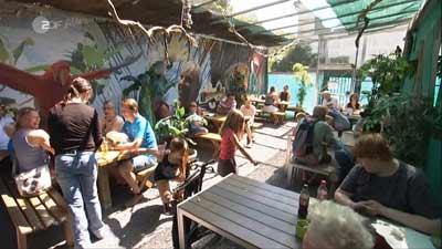 ZDF Drehscheibe über das Papageien Café