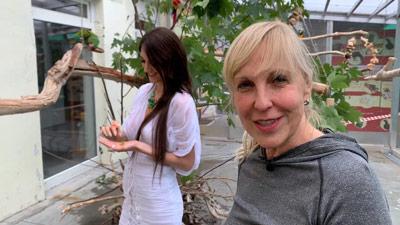 Heike Mundt stellt ein Fotoshooting vor