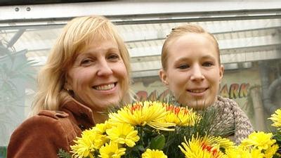 Heike und Janina bedanken sich bei den Fans